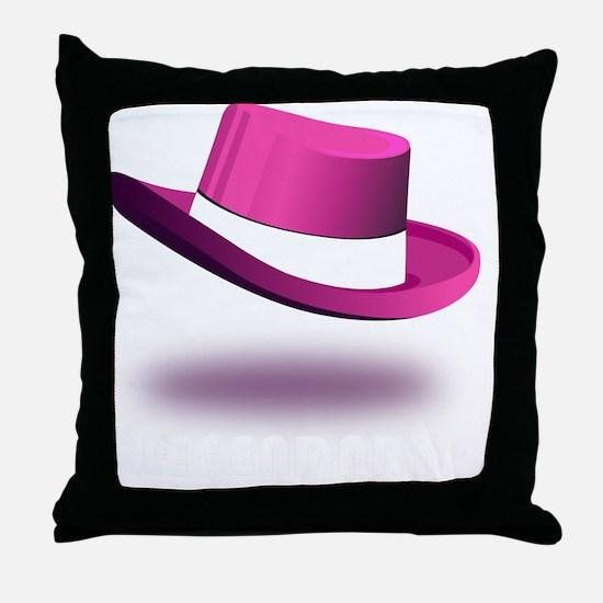 pink_legendary_dark Throw Pillow