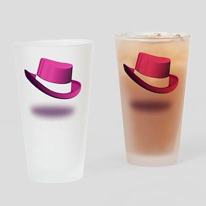pink_legendary_dark Drinking Glass