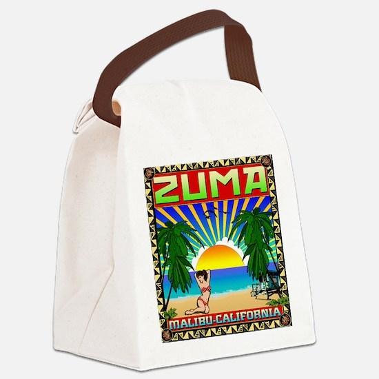 ZUMADECcp Canvas Lunch Bag
