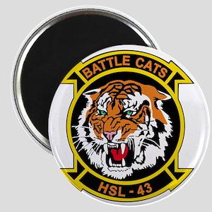 HSL-43 Battle Cats Magnet