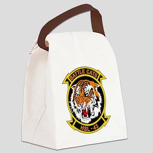 HSL-43 Battle Cats Canvas Lunch Bag