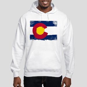 Estes Park Grunge Flag Sweatshirt