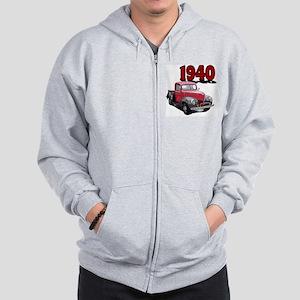 40Fordpick-10 Zip Hoodie