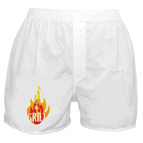 grill_master_wh Boxer Shorts