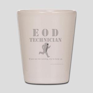 eod tech dark Shot Glass
