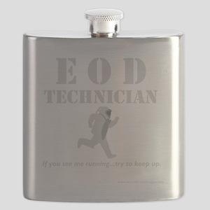 eod tech dark Flask