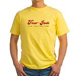 Four-Jack Yellow T-Shirt