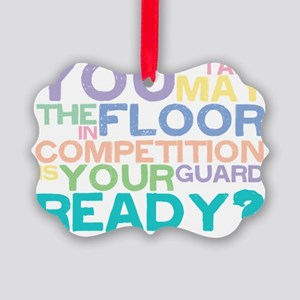 takethefloor Picture Ornament