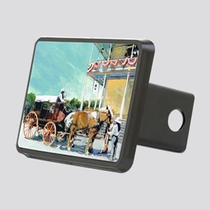 Stagecoach Old Town San Di Rectangular Hitch Cover