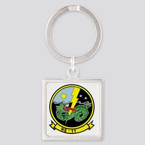 hs11_Dragonslayers Square Keychain