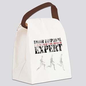 bombdisposal Canvas Lunch Bag