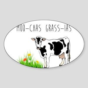 Moo-Chas Grass-ia Sticker