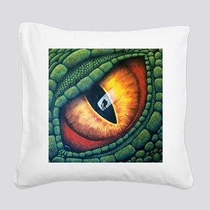 Make My Day Square Canvas Pillow