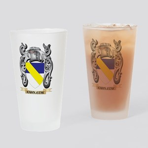 Karoly Coat of Arms - Family Crest Drinking Glass