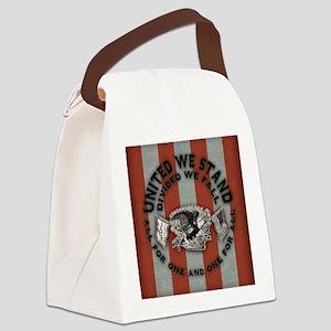Am-eagle-BUT Canvas Lunch Bag