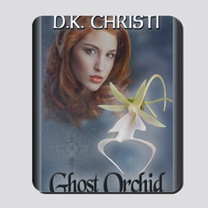 Ghost Orchid Greeting Card Mousepad