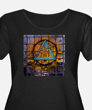 All things Sacred Plus Size T-Shirt