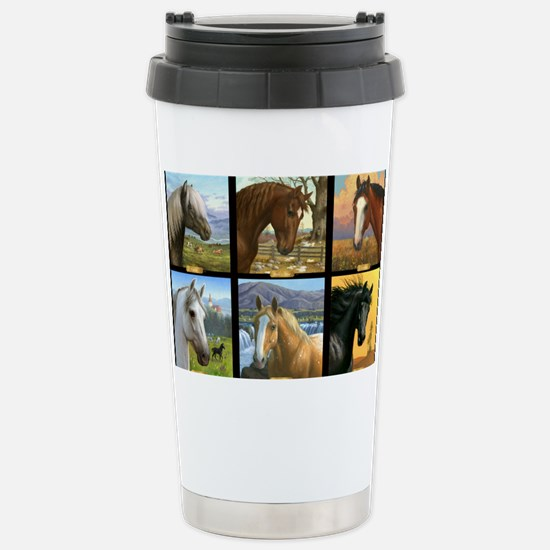 HORSE DIARIES POSTER Stainless Steel Travel Mug