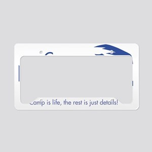 Camp-Newman_with-tagline License Plate Holder