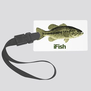 Bass Large Luggage Tag
