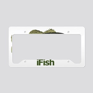Bass License Plate Holder