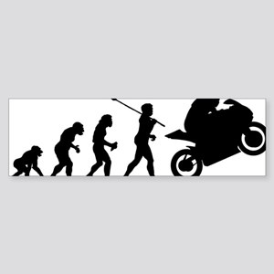 2-Bike Racer Sticker (Bumper)