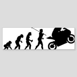 2-Bike Racer Sticker (Bumper)