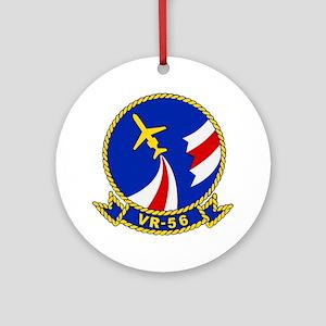 vr56 Round Ornament