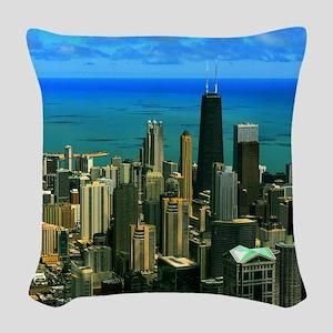 chicago Woven Throw Pillow