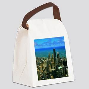 chicago Canvas Lunch Bag