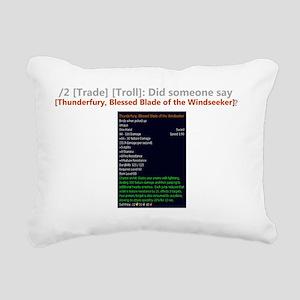 ThunderfuryTrade Rectangular Canvas Pillow