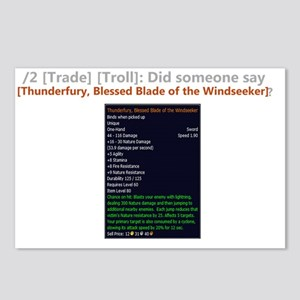 ThunderfuryTrade Postcards (Package of 8)