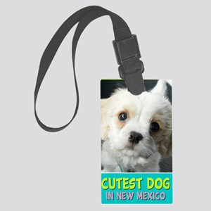 2-cutestdog Large Luggage Tag