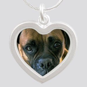 kash Silver Heart Necklace