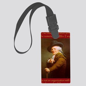 Joe_Decreux_Wu_Tang_by_JoelFry Large Luggage Tag