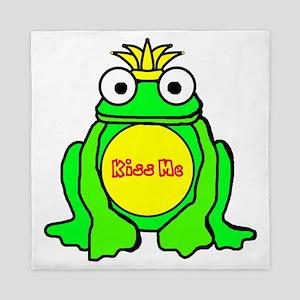 2-frog prince Queen Duvet