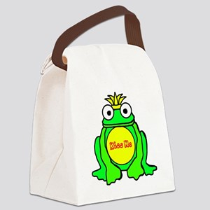 2-frog prince Canvas Lunch Bag