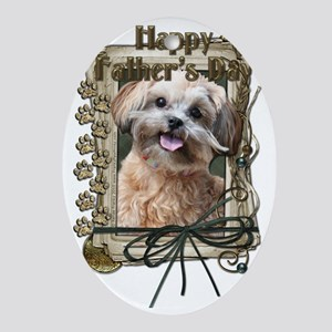 French_Quarters_ShihPoo_Maggie Oval Ornament