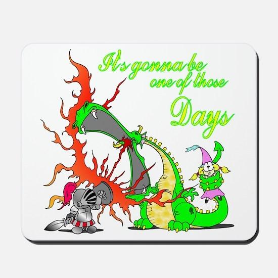 2-dragon Mousepad