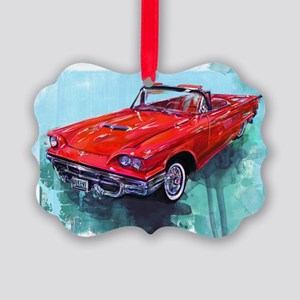 1970fordthunderbird Picture Ornament