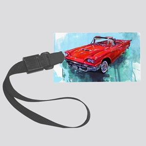 1970fordthunderbird Large Luggage Tag