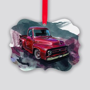 1953fordf100pickup Picture Ornament