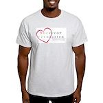 Survivor Revolution Ash Grey T-Shirt