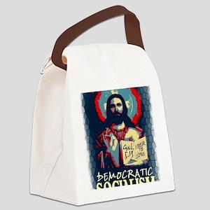 Jesus dem soc LG Gal 513 st glas Canvas Lunch Bag