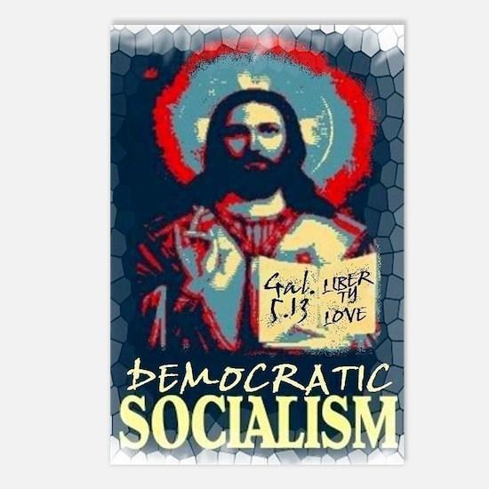 Jesus dem soc LG Gal 513  Postcards (Package of 8)