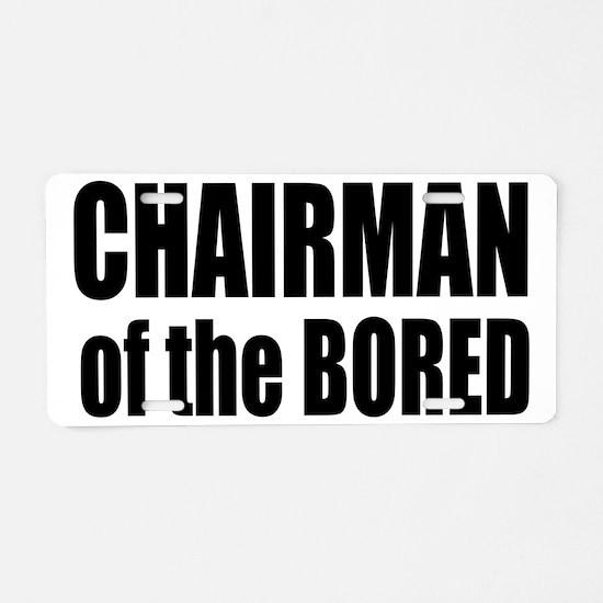 2-chairman Aluminum License Plate