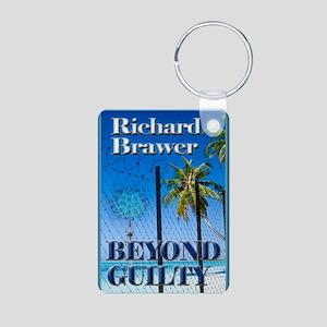 Beyond Guilty Notecard Aluminum Photo Keychain