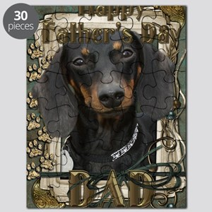 French_Quarters_Dachshund_Dad Puzzle