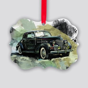 1938fordblack Picture Ornament