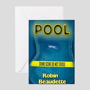 Pool 8x10 Greeting Card